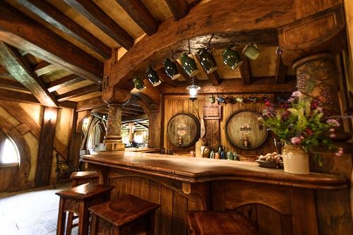 A traditional bar in a pub