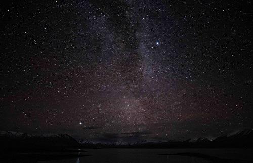 Stars in a dark sky